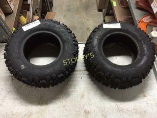 2 New Snowblower Tires   13x5x6