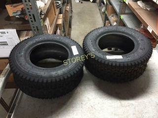 2 New Riding lawn Mower Tires   16 x 650 x 8