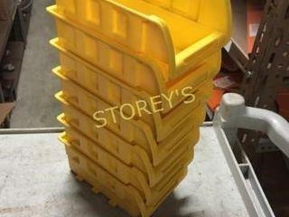 19 Yellow Parts Bins