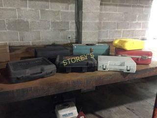 4 Asst Tool Cases   Empty