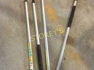 4 Stihl SM Shafts   1 2 Size