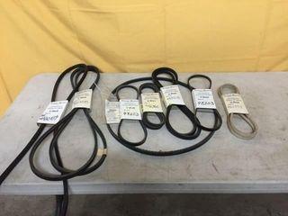 8 SCAG V Belts