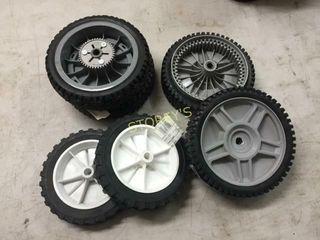 3 Toro   3 EHP Mower Wheels   Asst