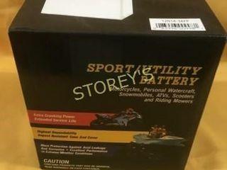 Sport   Utility Battery   12N14 3AFP
