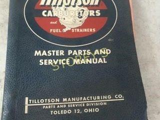 Tillotson Manual