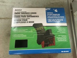 Arnold Snow Thrower Cover