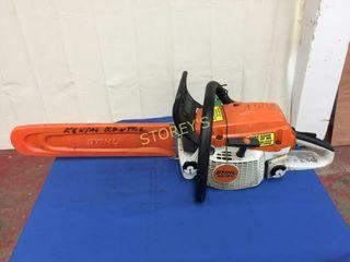 Stihl 16  Gas Chain Saw   MS261C