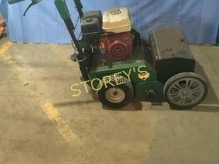 Billy Goat 9hp Over Seeder w  New Blades   Cable