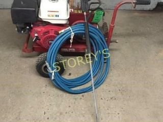 Comm  2500PSI Gas Pressure Washer w  Wand