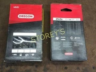 2 New Oregon 24  Chainsaw Chains