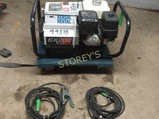 Red D ARC Generator   ARC Welder   GX200