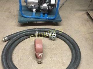 like New IPT 2  Gas Trash Pump w  20  Suction