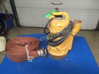 U Pump 4 000gph Elec  2  Submersible Pump