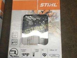 2 New Stihl 12  Pruner Chains