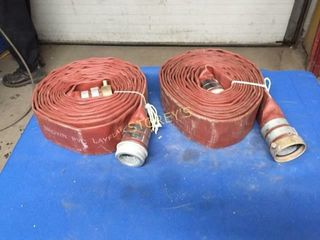 2 Discharge Hoses   2  x 25