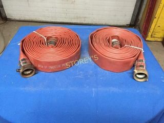 2 Discharge Hoses   1 5  x 25