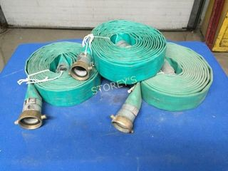 3 Discharge Hoses   1 5  x 25