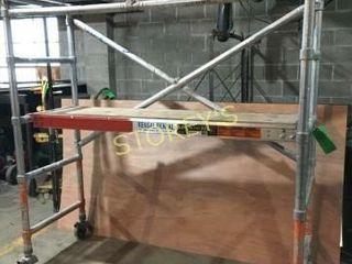 6  x 6  Scaffolding w  Plank on Wheels