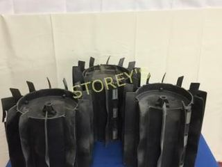 3 Used Stihl Rubber Replacement Heads