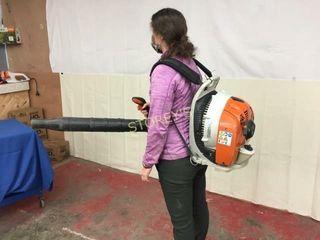 Stihl Back Pack Gas leaf Blower   BR430C