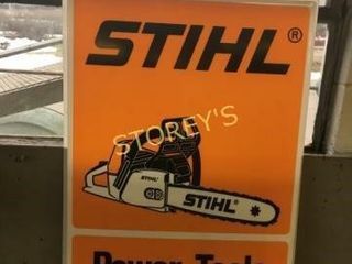 Stihl Power Tools Sign   23 x 31
