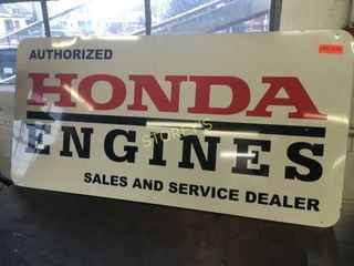 HONDA Engines Tin Sign   49 x 24