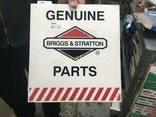 Briggs   Stratton Chloroplast Sign   12 x 13