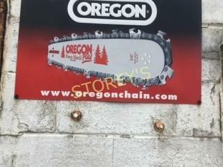 OREGON Tin Sign   25 x 16
