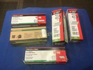 5 Boxes of Asst Finishing Nails   2 5  2  1 5   1