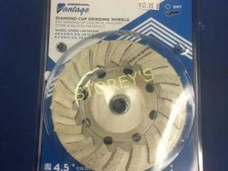 New Diamond Cup Grinding Wheel   4 5  x 5 8    11