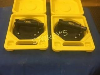 Pair of WPC Suction Cups w  Cases   like New