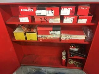 Hilti Contents   lower Cabinet