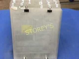 Qty of Clip Boards w  Tray