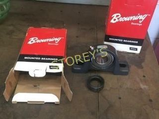 Pair of New Bearing Mounts