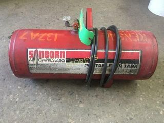 Sanborn Air Compressor   Air Pig