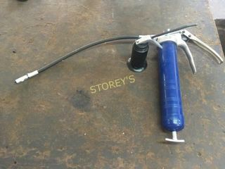 Blue Grease Gun   Oil Can