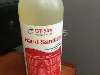 12 Bottles of Hand Sanitizer   1l ea