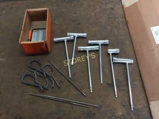 Asst Spark Plugs  Wrenches  Etc