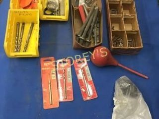 New Drill Bits  Tags  Etc