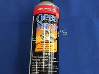 2 Cans of Open N Shut