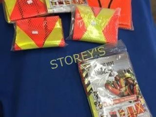 Asst Safety Vests