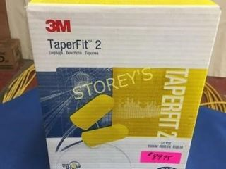 New Box of 3m TaperFit 2 Ear Plugs