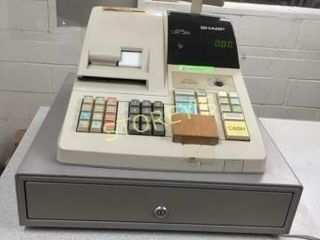 Sharp ER A310 Cash Register w  Key