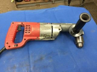 Milwaukee 1 2  Right Angle Drill