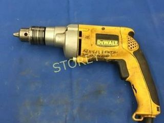 DeWAlt 1 2  Reversing Drill   Variable Speed
