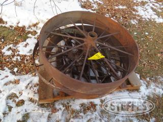 Pallet of steel wheels 1 jpg