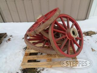 4 wood wagon wheels 1 jpg