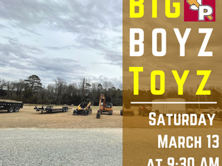 SPRING BIG BOYS TOYS! LANDSCAPING AND CONSTRUCTION EQUIPMENT! LIVE/ONLINE SIMULCAST