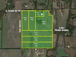 159 +/- Acres Multi-Tract Land Auction