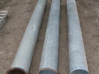 UNKNOWN STRAIGHT BlOWER PIPES  10 X3  4 X1  115